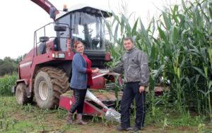 По темпам уборки и урожайности кукурузы Лиозненщина среди лидеров в области