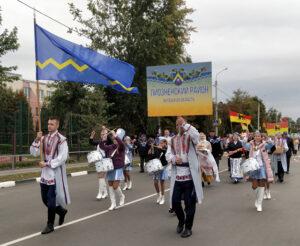 Делегация Лиозненщины приняла участие в областном фестивале-ярмарке тружеников села «Дожинки-2021»